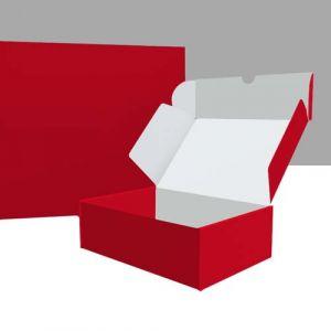 Klappboxen im DIN-Format außen bedruckt