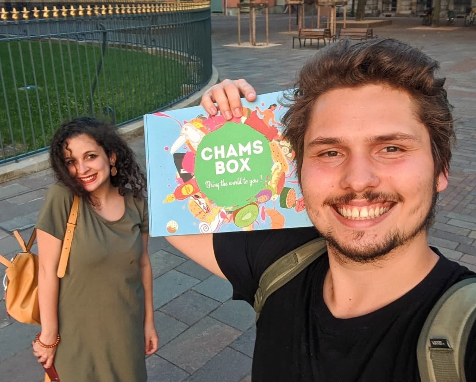 Koch dich um die Welt! - mit Chamsbox