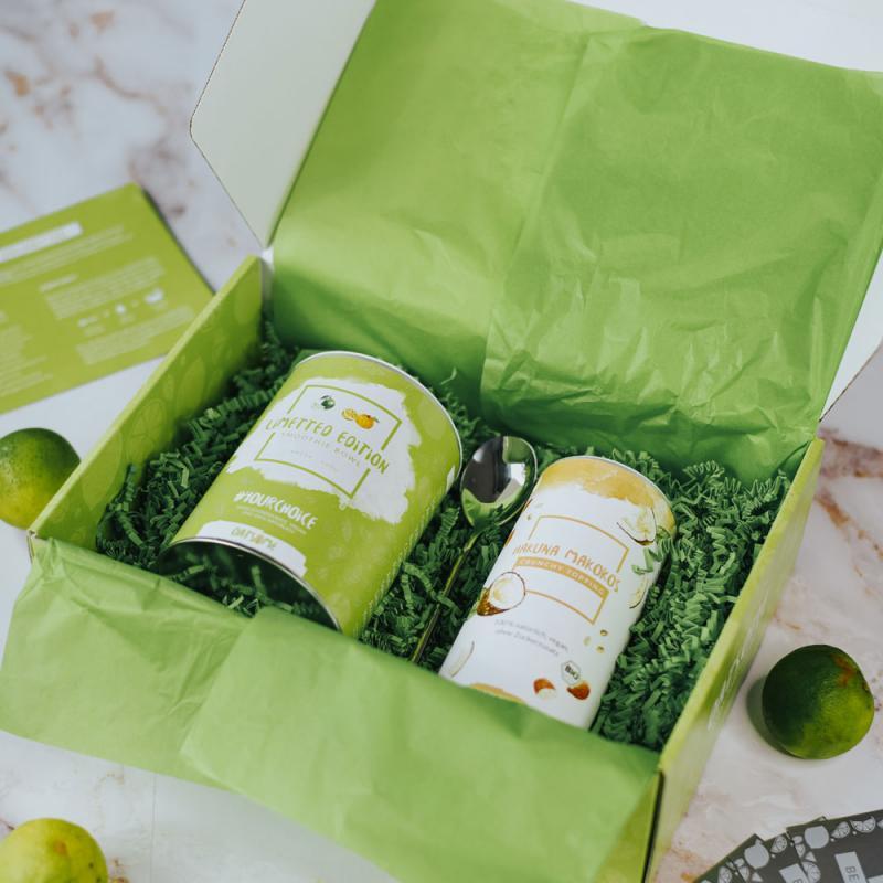 Oatsome-Verpackungen - Wenn das Leben dir Limetten gibt...