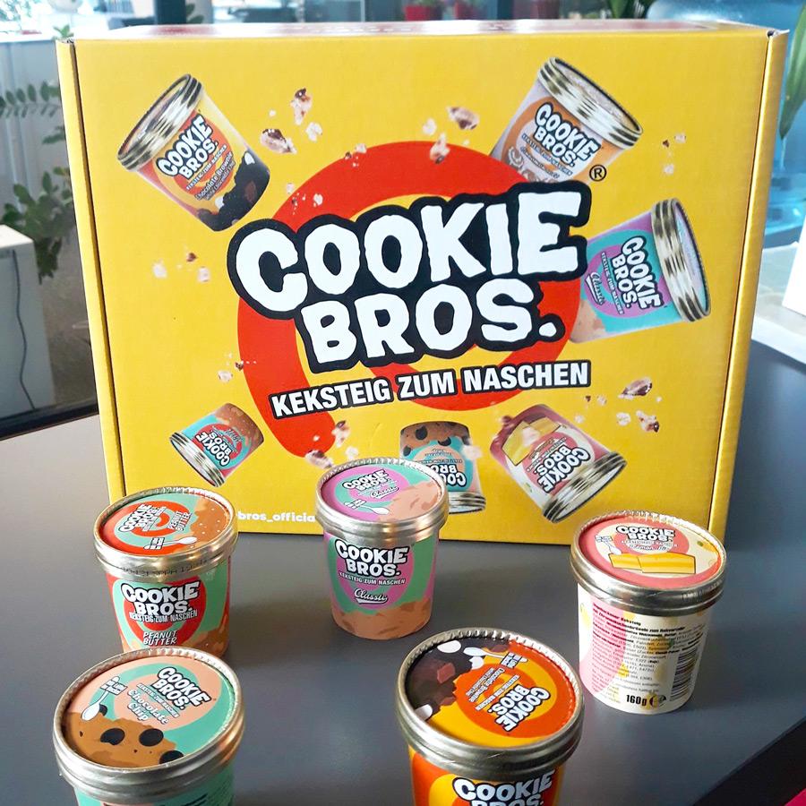 Cookie Bros. - Keksteig zum Naschen