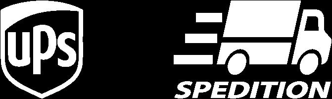UPS-Logo und Speditions-Logo